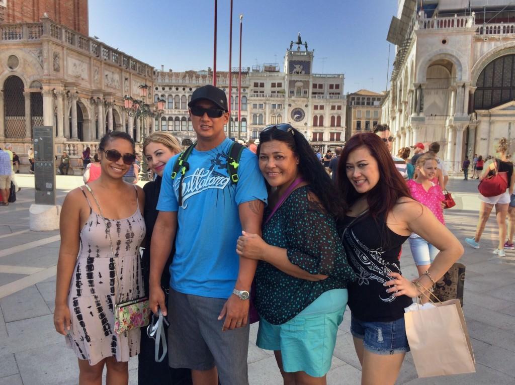 Enjoying Venice Italy