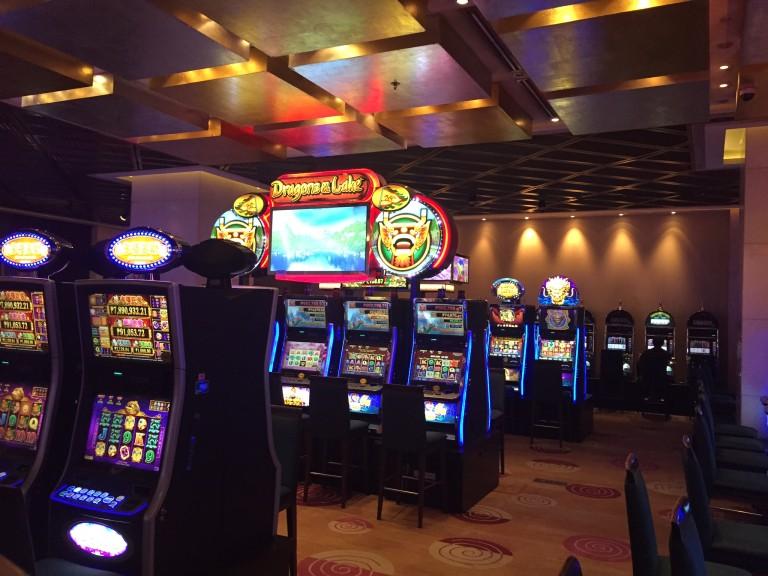 Several Slot Machines