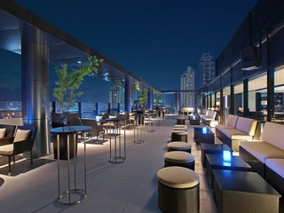 Seda BGC-Straight Up Roofdeck Bar Al Fresco Area
