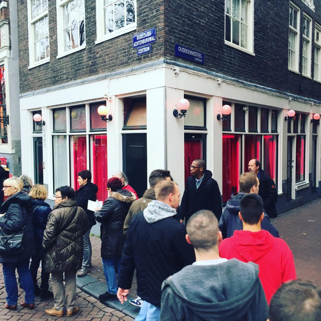 A Streetcorner in Amsterdam